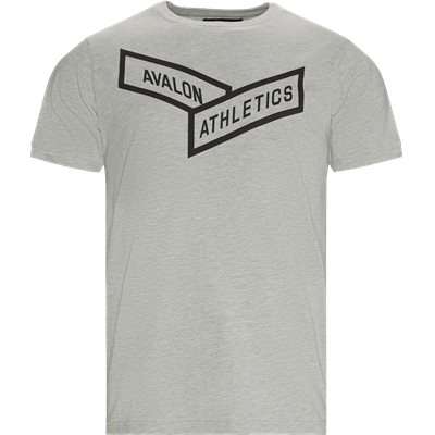 Regular fit   T-shirts   Grå
